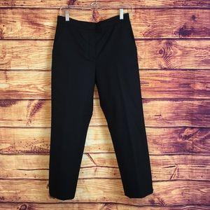 Chloé Black Ankle Dress Pant Trousers